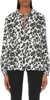McQ by Alexander McQueen Floral-print silk shirt