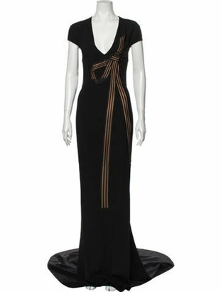 Stella McCartney 2015 Long Dress w/ Tags Black