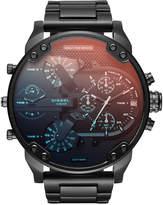 Diesel Men's Mr. Daddy 2.0 Black Stainless Steel Bracelet Watch 57mm DZ7395