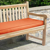 "Mozaic Sunbrella 48"" x 19"" Canvas Outdoor Bench Cushion"