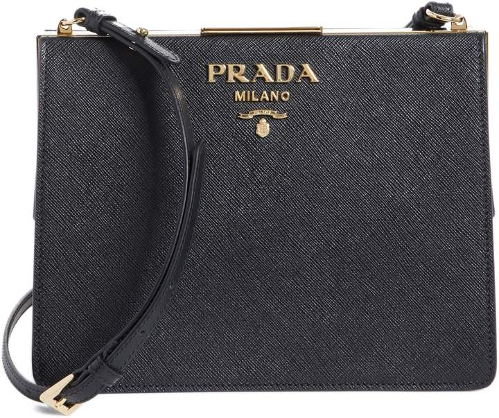 b649a18d6b7a Prada Saffiano Leather Shoulder Strap - ShopStyle