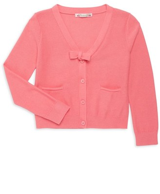 Bonpoint Little Girl's & Girl's Cotton Cardigan