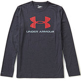 Under Armour Sportstyle Logo Long-Sleeve Tee