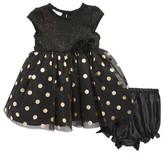 Frais Infant Girl's Sparkling Dot Dress