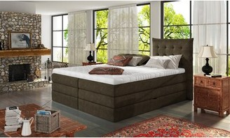 Lorriane Adjustable Bed Base and Mattress Arsuite Size: Queen, Color: Brown