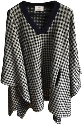 Allude Blue Cashmere Coat for Women