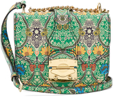 Miu Miu Paisley-print leather cross-body bag