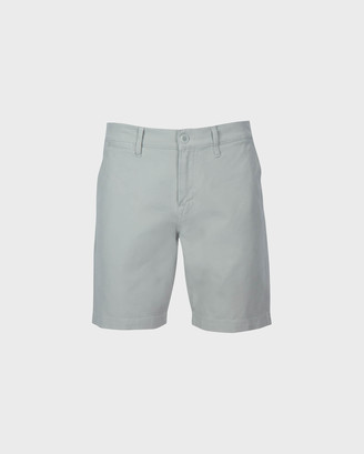 7 For All Mankind Chino Short in Light Gray