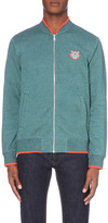 Kenzo Logo-embroidered cotton-jersey jacket