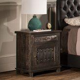 Hillsdale Furniture Bolt Grey Wood and Metal 1-drawer 1-door Cabinet