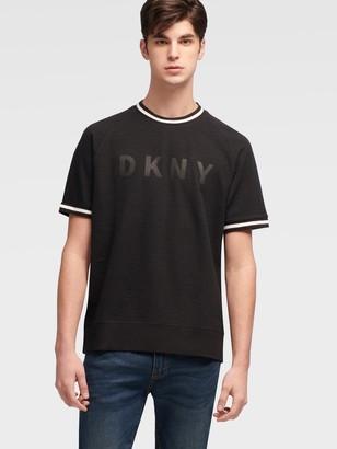 DKNY Ribbed Logo Tee