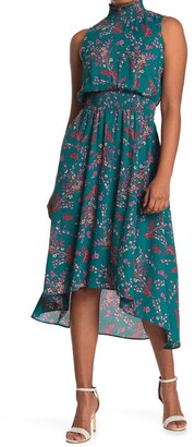 Nanette Nanette Lepore Sleeveless High/Low Midi Dress