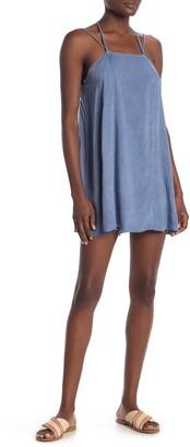 BOHO ME Woven Mini Dress