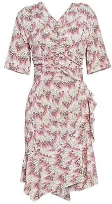 Isabel Marant Arodie Ruched Dress