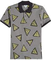 Kenzo Printed Cotton Polo Shirt