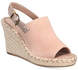 Toms Monica Slingback Espadrille Wedges Women's Shoes