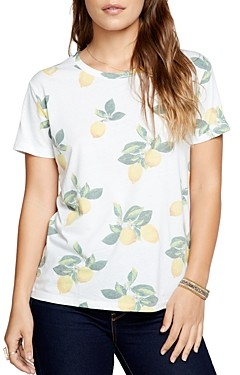 Chaser Lemon Print Short-Sleeve T-Shirt