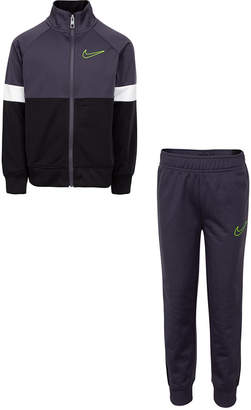 Nike Little Boys 2-Pc. Colorblocked Tricot Track Jacket & Pants Set