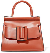 Boyy Karl 24 Small Buckled Leather Tote - Orange