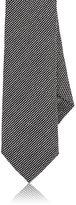 Barneys New York Men's Silk-Blend Necktie-GREY