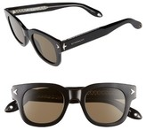 Givenchy Women's 47Mm Gradient Sunglasses - Black Crystal