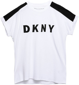 DKNY Stretch-cotton And Modal-blend Jersey T-shirt