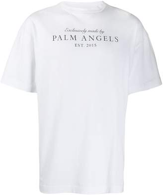 Palm Angels crew neck T-shirt