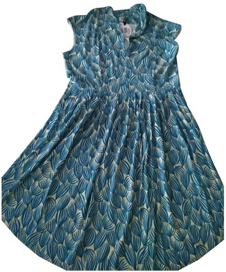Siyu Turquoise Dress for Women