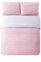Lala + Bash 'Kelly' Heart Print Comforter Set