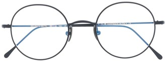 L.G.R Reunion Metal round-frame glasses