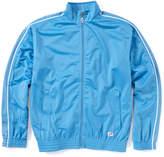 Soffe Columbia Blue Stripe Knit Track Jacket