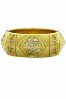 House Of Harlow Pave Crystals Thick Stack Ring