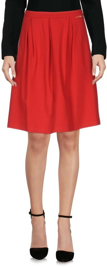 Blugirl Knee length skirts - Item 35332560SP