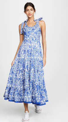 Free People Kika's Printed Midi Dress