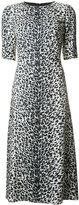 Saint Laurent animal-print dress - women - Silk/Viscose - 38