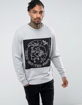 Diesel S-samuel Sweater Embroidered Patch