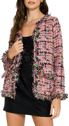 ENGLISH FACTORY Tweed Bolero Jacket