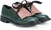 Marni teen appliqué lace-up shoes