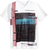 William Rast Men's Aerial Graphic-Print T-Shirt