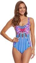 Gottex Sarasana Square Neck One Piece Swimsuit 8159064