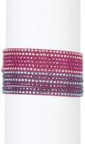 Swarovski Slake Multi Row Crystal Wrap Bracelet