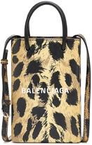 Balenciaga Shopping Phone Pouch shoulder bag
