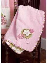 CoCalo A La Mode Appliqued Sherpa Blanket (30 x 40)