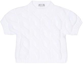 BRUNELLO CUCINELLI KIDS Cotton-blend sweater