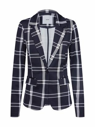 Ichi Women's Ihkate Tartan Bl Suit Jacket