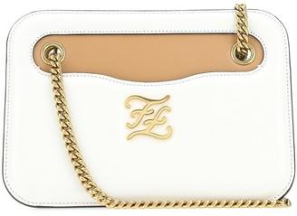 Fendi FF Karligraphy Pocket Shoulder Bag