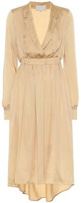 Arjé The Indya silk midi dress