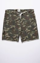 rhythm Bunker Camo Cutoff Walk Shorts