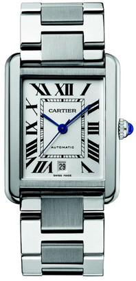 Cartier Tank Solo Extra-Large Stainless Steel Bracelet Watch