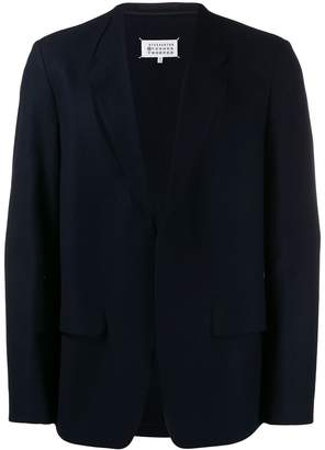 Maison Margiela cut out detailed blazer